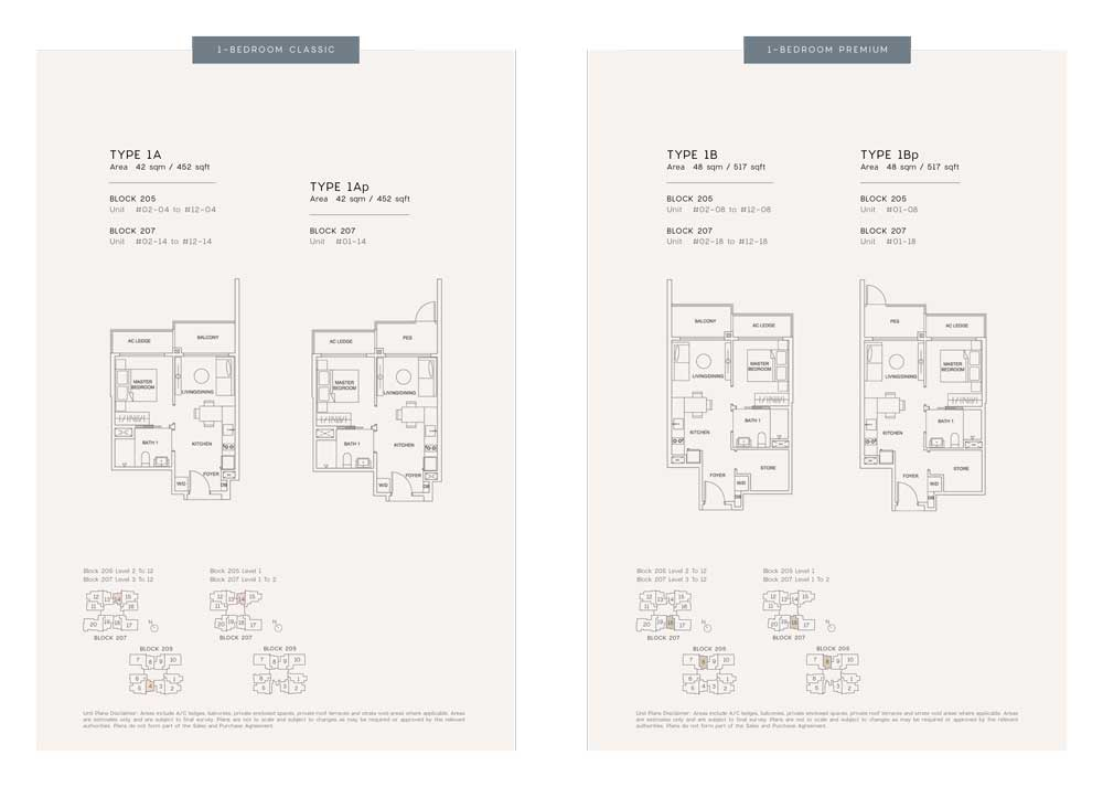urban-treasures-1-bedroom-classic-floor-plan-type-1a