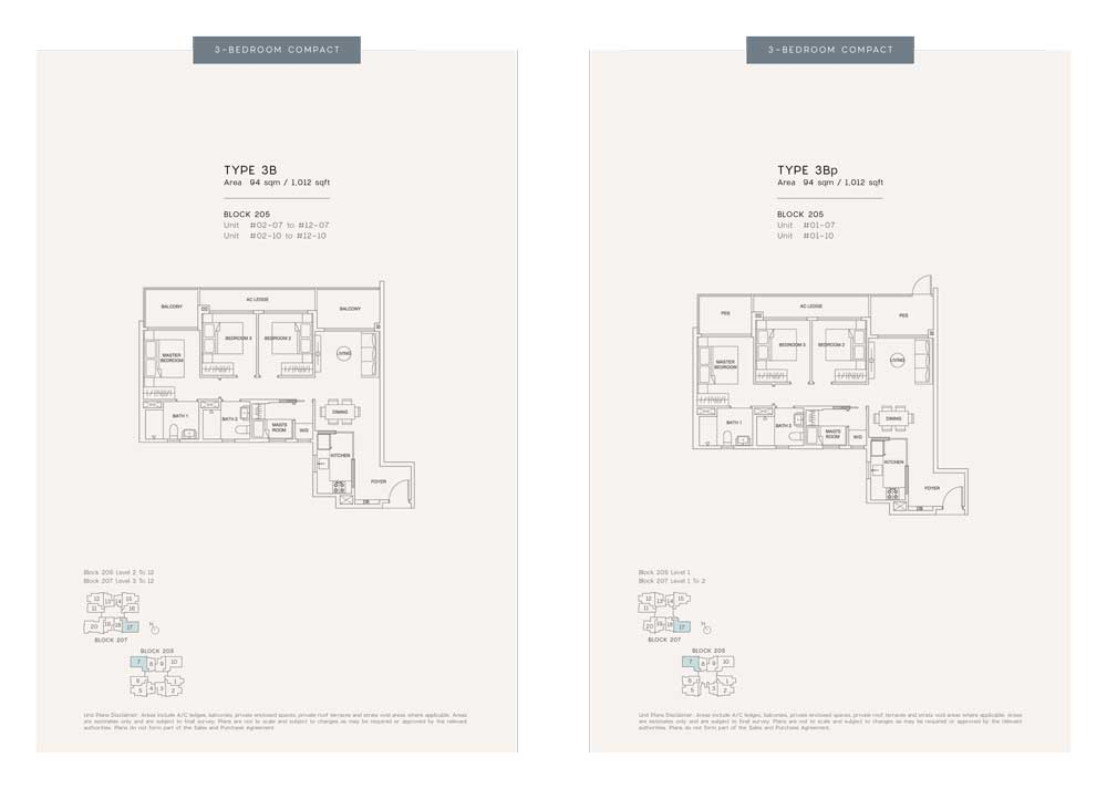 urban-treasures-3-bedroom-compact-floor-plan-type-3b